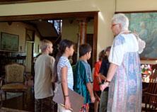 Students at Grove Farm